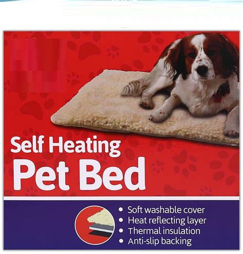 self heating dog bed pet comforts self heating pet bed 64x49cm