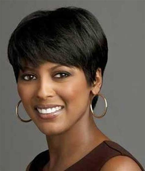 short haircuts for fine dark hair short haircuts for black women with round faces the best