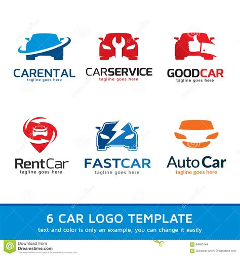 Auto Logo Bock by Automotive Car Logo Template Design Stock Vector