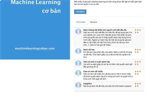 Machine Learning Mba by Machine Learning Cơ Bản