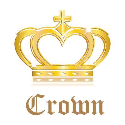 crown logo template crown logo template vector