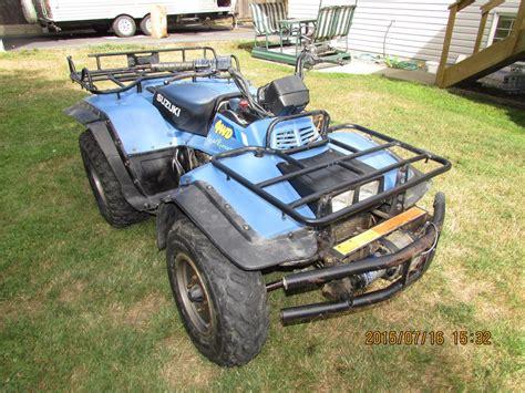 Suzuki 300 Quadrunner Parts 1991 Suzuki Quadrunner 300 Atv Comox Cbell River Mobile