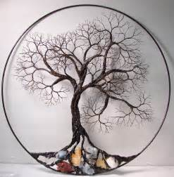 Wire Tree Wall Hanging Home Decor by Wire Tree Of Life Ancient Spirit Sculpture With Natural