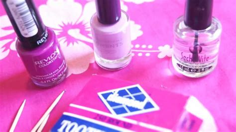 Nail Tutorial Using Toothpick