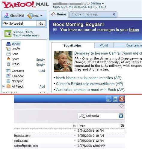 Yahoo Email Lookup Yahoo Mail Has Search But Lack Of Pop3 Still Annoying