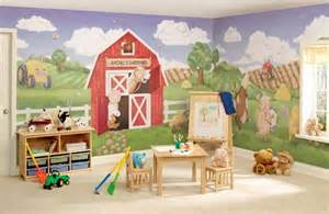 Farm Wall Mural kids room farm wall mural for the home pinterest