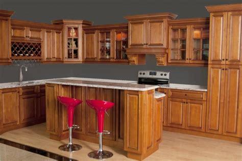 Glazed RTA Maple Kitchen Cabinets in Minnesota, USA