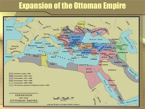 ottoman empire expansion mogolian empire