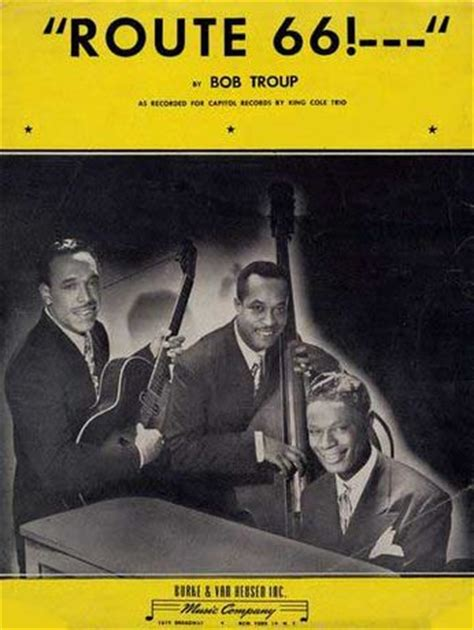 take a road trip on route 66 with nat king cole and bobby troup