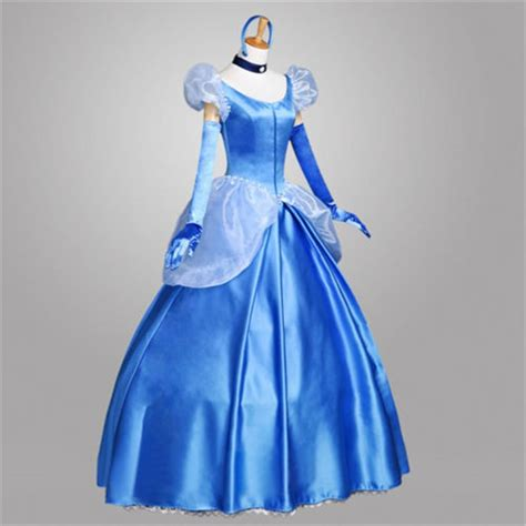 Buy Cinderella Cosplay Costumes, Adult Cinderella Halloween Costumes   TimeCosplay