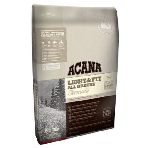 acana light fit dry dog acana light fit dry dog food at zooplus