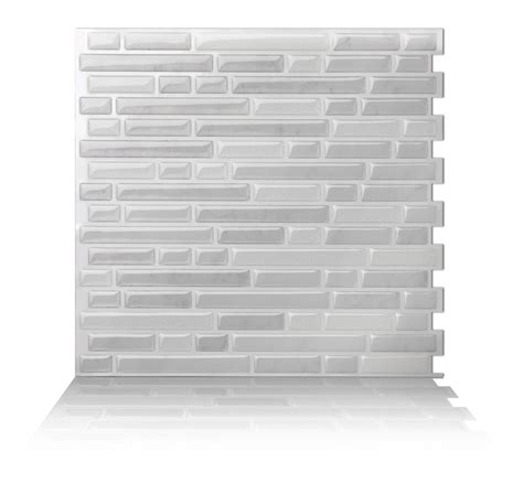 peel and stick tile backsplash tic tac tiles 174 peel and stick self adhesive smart backsplash 10 tiles ebay