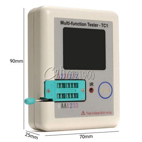 npn transistor tester transistor tester tft diode triode capacitance meter lcr