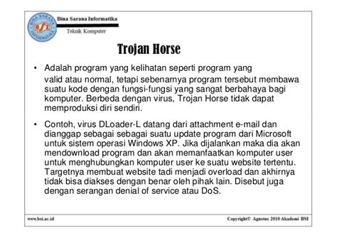membuat virus trojan horse pertemuan09 virus trojandanworm