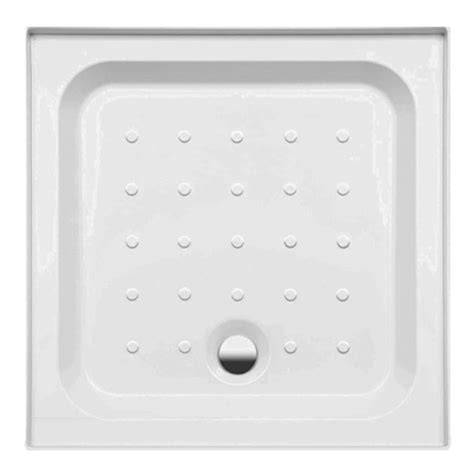 Coram Shower Trays With Upstands by Coram Universal Square Shower Tray With Upstands Waste