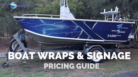 fishing boat price guide boat wrapping price guide how much does it cost