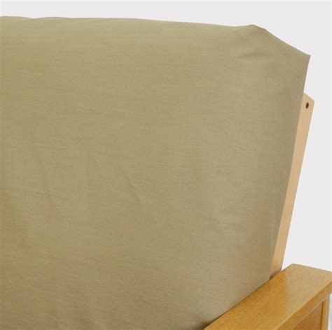 skirted futon covers ripstop khaki skirted futon cover