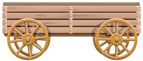 Wooden Cart PNG Clip Art   Best WEB Clipart