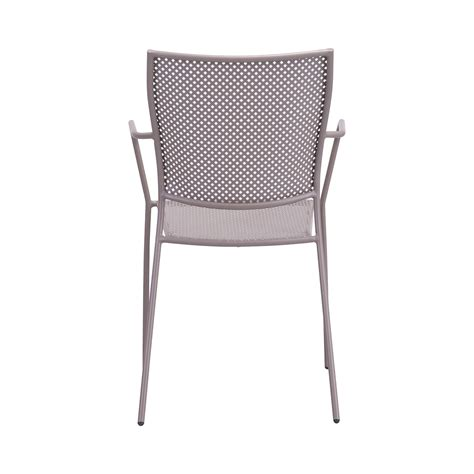 Zuo Dining Chairs Zuo Pom Outdoor Dining Chair In Taupe Boost Home
