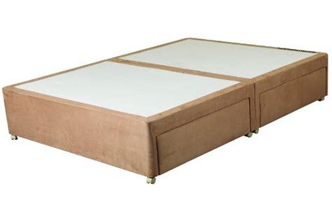 clayton divan bed base only 4 drawer king size