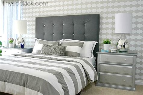 how to make a material headboard diy upholstered headboard with a high end look