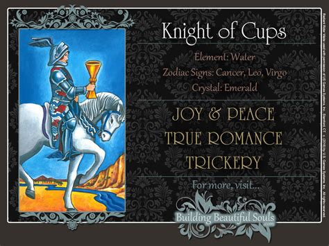 Numerology Colors by The Knight Of Cups Tarot Card Meanings Tarot Reading