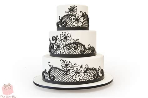 Megan Top Renda Silver all wedding cakes custom created for your special day