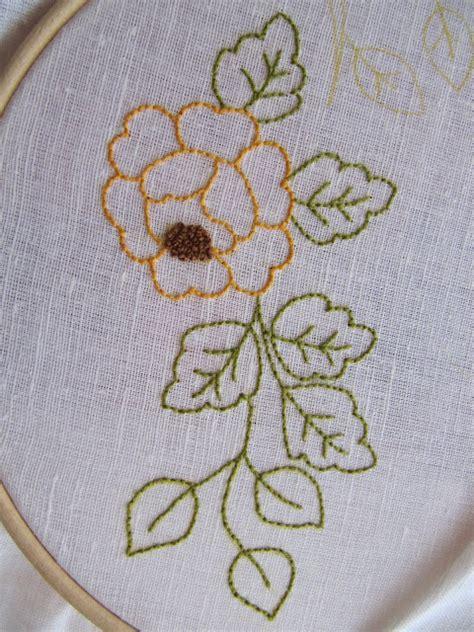 imagenes de flores bordadas a mano cestosycestas 2 tutoriales bordar a mano