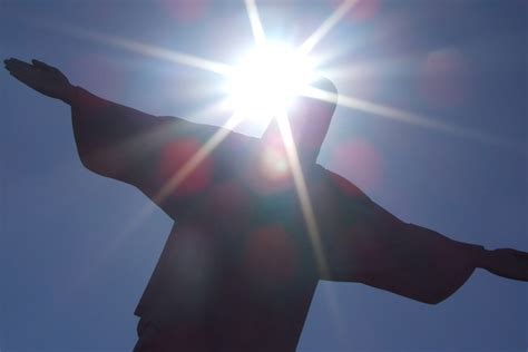 Light Me by The Redeemer Statue On Corcovado Pictures