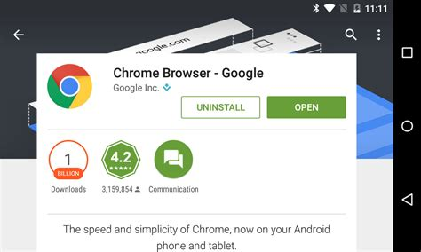 chrome play store google chrome for android hits 1 billion downloads in the
