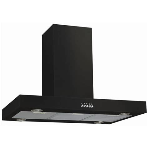 black stainless steel hood fan 36 quot maestro series stainless steel black island range hood