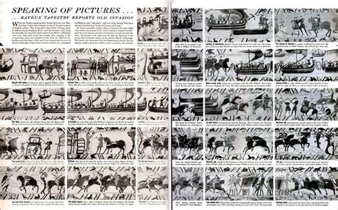 Qui A Fait La Tapisserie De Bayeux by Les R 233 F 233 Rences Visuelles 224 La Tapisserie De Bayeux Dans La