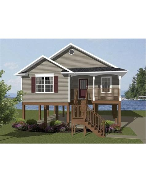 vacation house plans small small beach house plans on pilings www imgkid com the