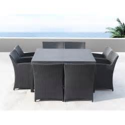 tavoli da giardino in rattan tavoli da giardino
