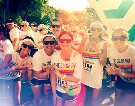 the color run chicago total sorority move throwing what you before the