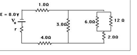 a resistor with resistance r is connected to a battery how to calculate total resistance in circuit with parallel and series resistors connected
