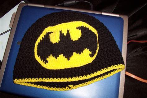knitting pattern batman logo the bat hat knitting