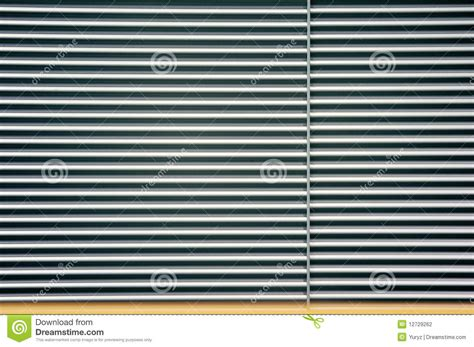 curtain metal metal roll curtain stock photography image 12729262