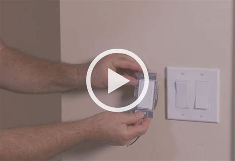 dimmer light switch installation how to install a dimmer switch at the home depot