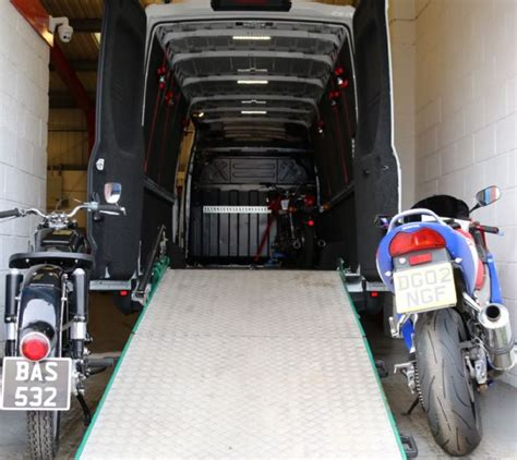 Motorcycle Dealers South Uk by Motorcycle Delivery Uk Vehicle Transporter In Goldthorpe