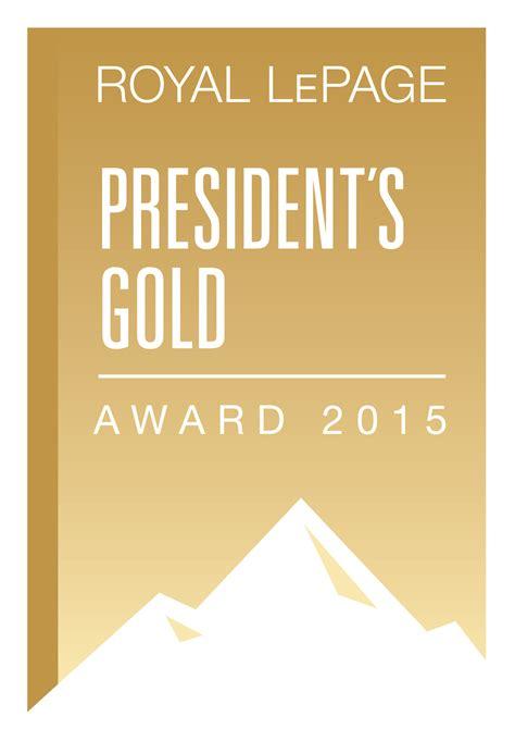 Gold Award Letter President Awards