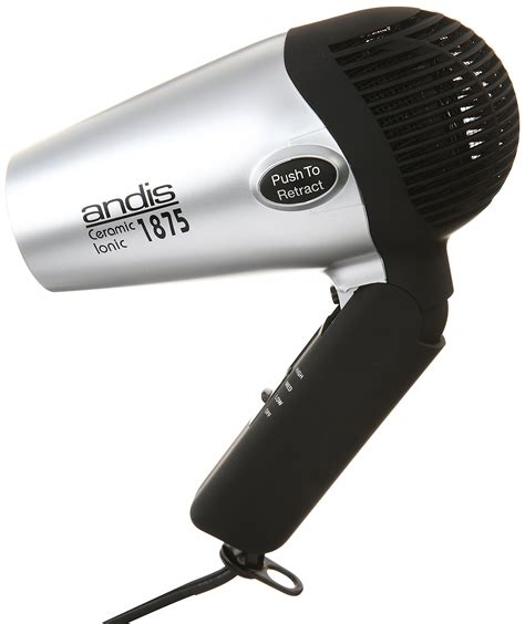 Hair Dryer Portable andis 1875 watt fold n go ionic hair dryer foldable portable travel 80020 ebay