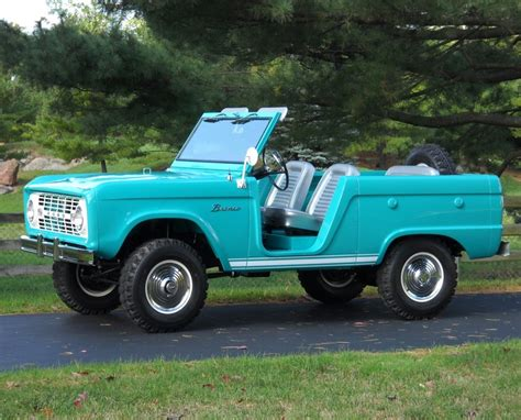 restored early ford bronco ford bronco
