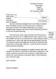 100 15 complaint letters templates worksheets at the restaurant worksheets page 17