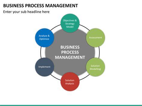 business process management template sle business business process management powerpoint template sketchbubble