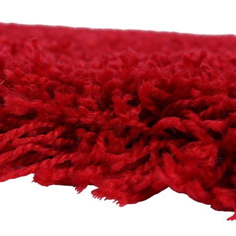 langflor teppich rot shaggy bravo rot hochflor teppiche