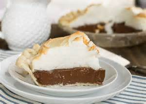 old fashioned chocolate meringue pie spicy southern kitchen