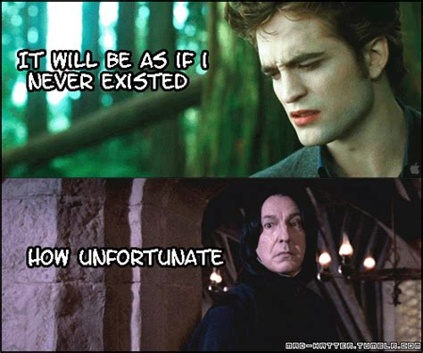Twilight Meme - harry potter vs twilight images funny twilight and harry