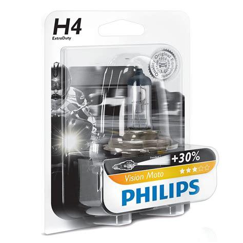 Lu Philips Blue Vision Moto oule philips vision moto h4 12v 60 55w p43t 38