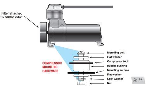 wiring diagram for dual viair pressors air lift wiring